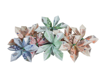 Flowers of money