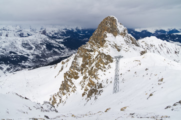 """ Dent de Bourgin"", Courchevel, France"