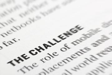 focus on the challenge