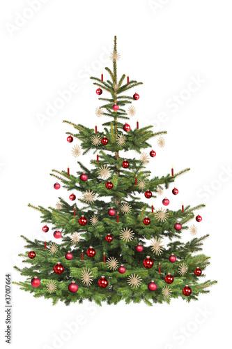 geschm ckter weihnachtsbaum stockfotos und lizenzfreie bilder auf bild 37017664. Black Bedroom Furniture Sets. Home Design Ideas