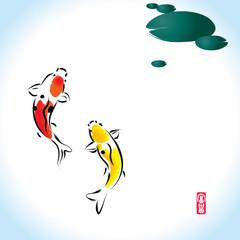 fortune zen koi