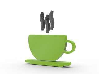 3d Icon Kaffee