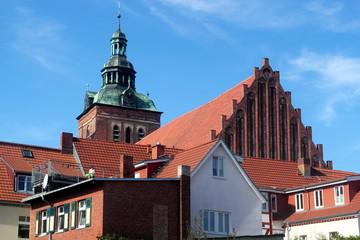 Wittstock mit Marienkirche