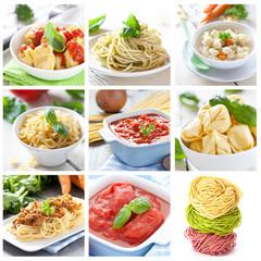 Pasta und Saucen