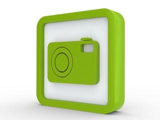 Icon grün Fotokamera