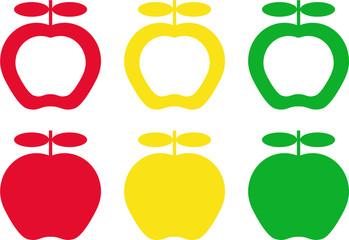 estampado manzanas_apples background