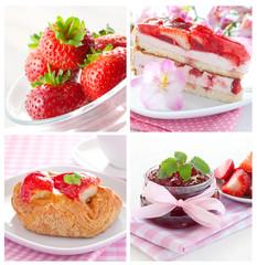 Erdbeeren Variation