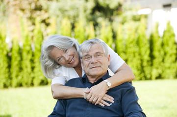 Glückliche Rentner
