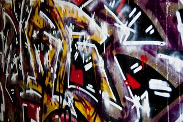 Fotobehang Paradijsvogel Graffiti