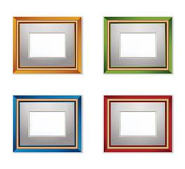 Multicolored Photo frames