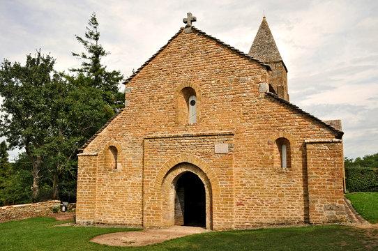 Brancion, Borgogna, chiesa di Sain Pierre