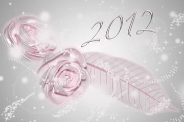 2012 Rose de satin