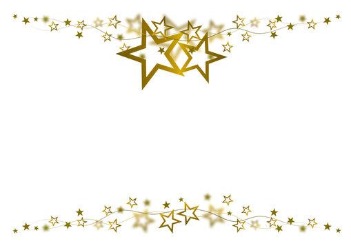 Sternrahmen Gold