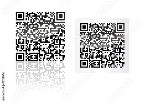 mobiltag flash code qr code fichier vectoriel libre de droits sur la banque d 39 images fotolia. Black Bedroom Furniture Sets. Home Design Ideas