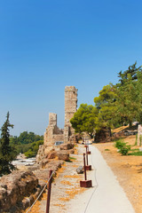 Pedestrian path to Acropolis