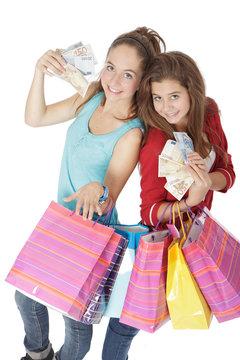Adolescente et argent de poche