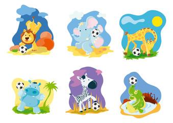 Animal soccers