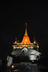 Wat saket temple Bangkok Thailand