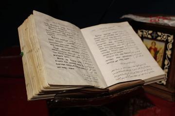 Messebuch - koptische Sprache