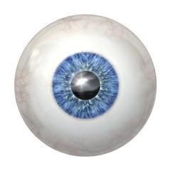 eye ball blue