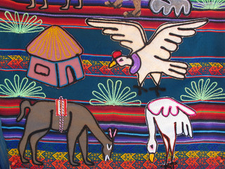 Andenmotiv - Andean motiv