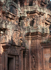 The Banteay Srey Temple in Siem Reap, Cambodia
