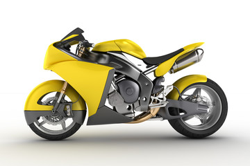 Keuken foto achterwand Motorfiets Concept Motorbike