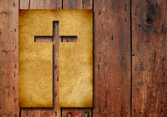 High resolution christian cross banner