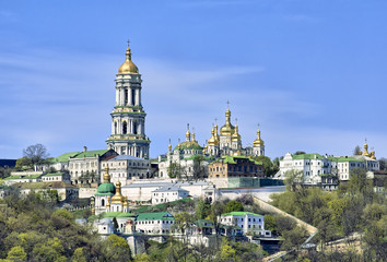 Fotorolgordijn Kiev Kiev Pechersk Lavra Orthodox monastery