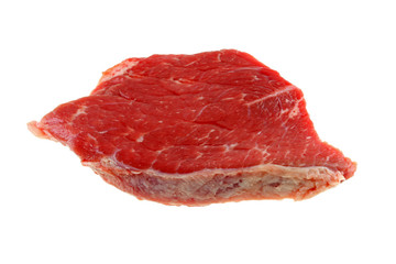 A cut of meat from outside muscle (upper leg) Beef Bottom Round