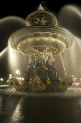 Fountain at Place de la Concorde, Paris, France.