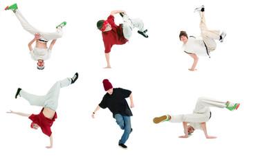 cool hip hop style dancer