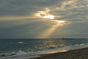 La mar y el sol