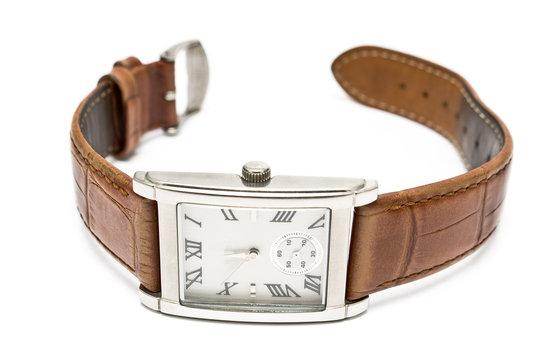 Ladies square wristwatch