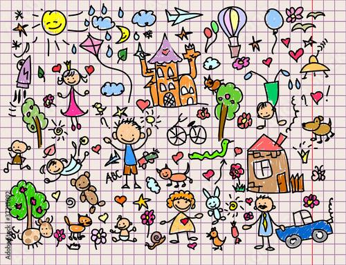Рисунок в детском стиле