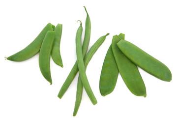 Peas, Beans and Mangetout