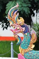 Naga statue, Issan, Thailand.