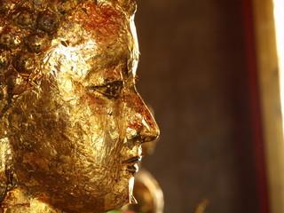 Face of thai buddha