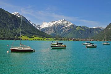 Blick auf Pertisau am Achensee in Tirol