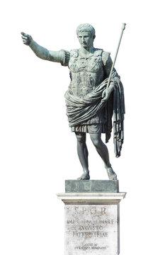 augustus emperor statue