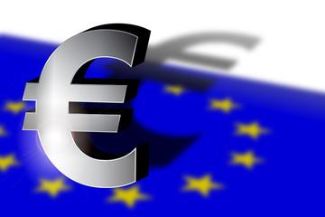 Der Euro wirft lange Schatten (3D)