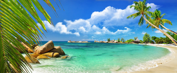 Wall Mural - tropical paradise - Seychelles islands