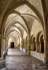 Obraz Interior of Monastery of Veruela - fototapety do salonu