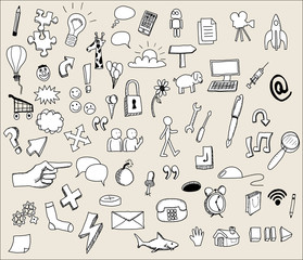 iconos comic