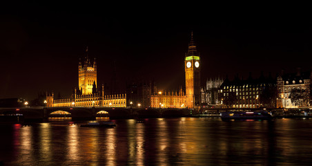 Westminster, London, at Night