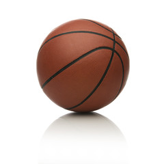 Basketball on white.