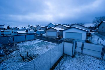 Urban Housing in Winter