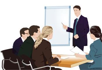 Vortrag und Schulung