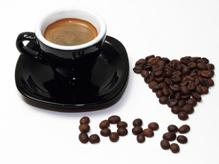 ym love a cup a espresso coffee
