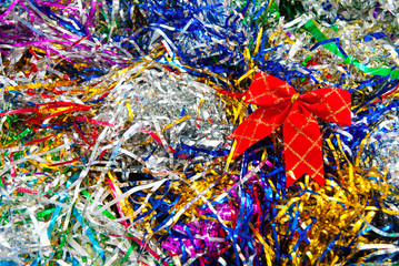 tinsel background
